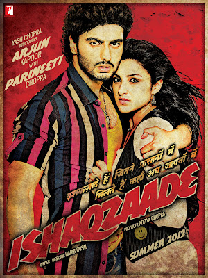 Ishaqzaade First Look Poster