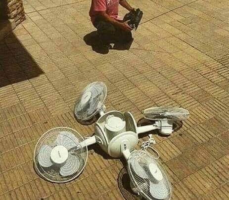 drone ventiladores