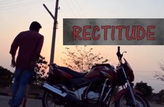 RECTITUDE SHORT FILM POSTER
