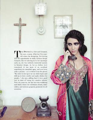 Tena Durrani Mughal Fashion