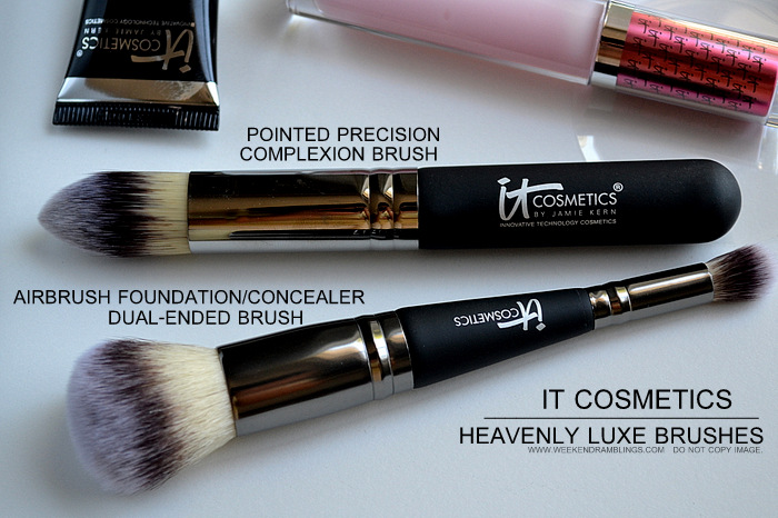 It Cosmetics Your Most Beautiful You 6 Piece Antiging Makeup CollectionBeauty Blog Heavenly Luxe Makeup Brushes Concealer Foundation Complexion Photos Swatches