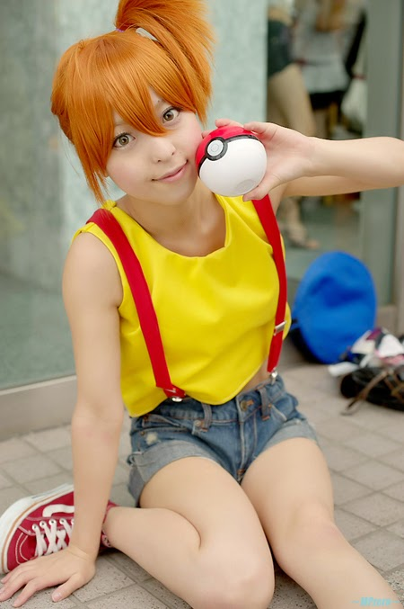 misty cosplay pok233mon sexy cosplay fever