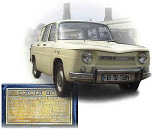 Romanian car manufacturer automobile Dacia started