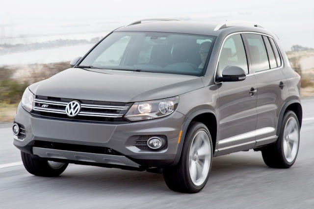 2015 all new Volkswagen Tiguan more power