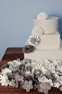 silver gray wedding theme