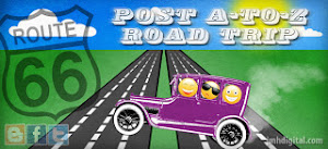 Post A to Z Challenge Road Trip