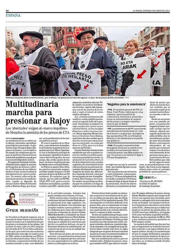 Parece que Pedro J. ha decidido hacer campaña por la insustancial Ministra Rubianes. Debe pensar: 'Eso antes que el Maligno'