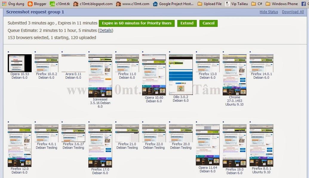 Cross Platform Browser Test