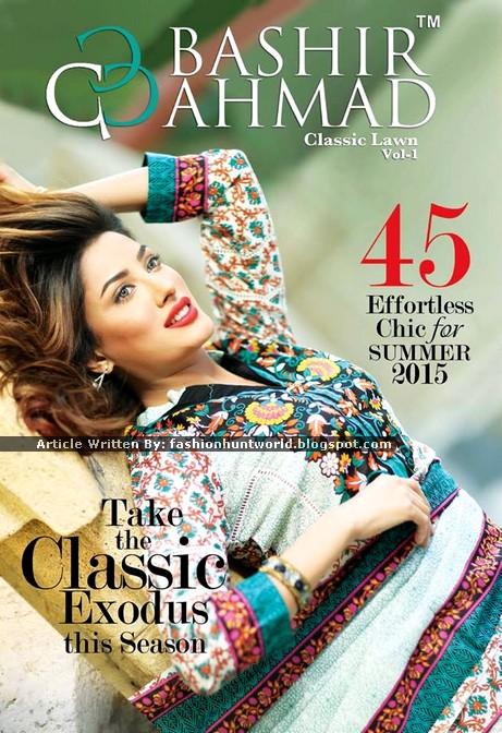 Mahvish Hayat Classic Lawn 2015 Magazine