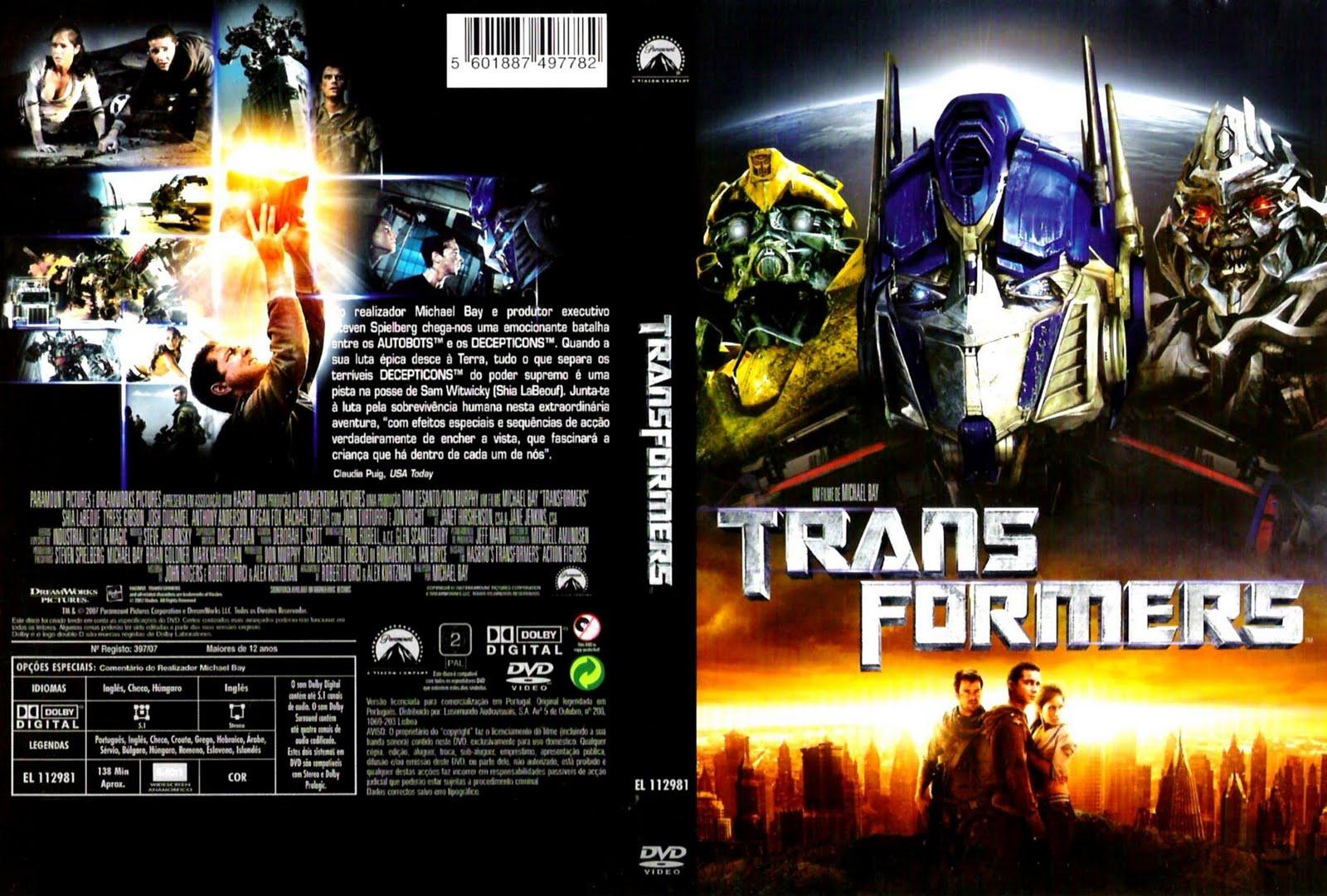 Imagens Transformers 1 Torrent Dublado 1080p 720p BluRay Download