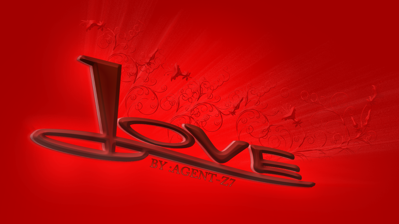 Wallpaper Hd 3d I Love You : 3D Wallpapers: 3D Love Wallpapers