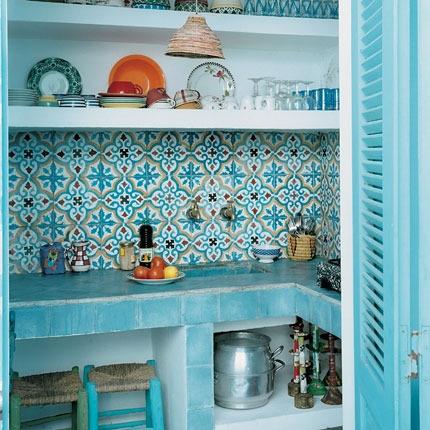 Dise o de cocinas con azulejos cer micos c mo dise ar - Cocinas con diseno ...