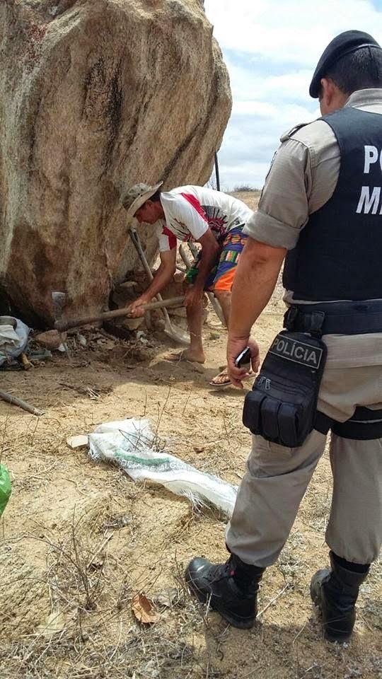 CUBATI PB: Duas ossadas humanas foram encontradas na zona rural do município