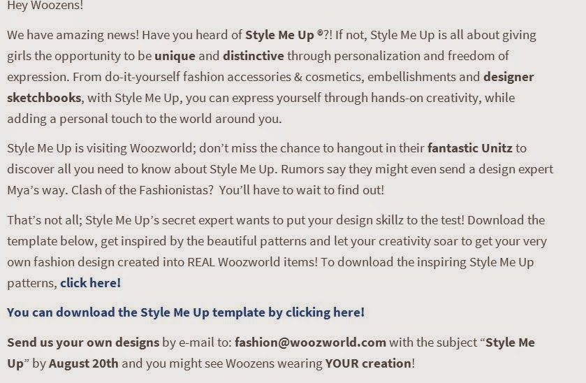 Style Me Up!!!