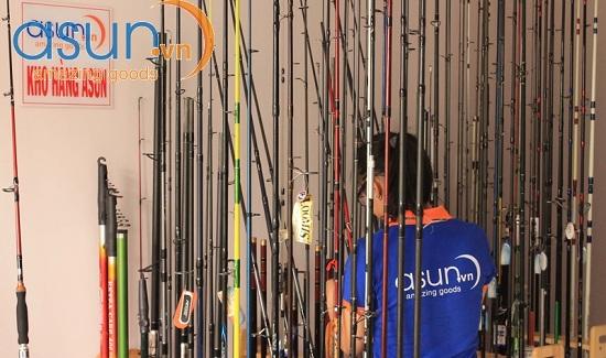 Asun - Mua bán cần câu cá uy tín tại TPHCM