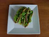 Avocado Salad-Topped Steak Tacos