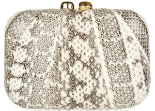Kotur Morley Snake Box Clutch Purse