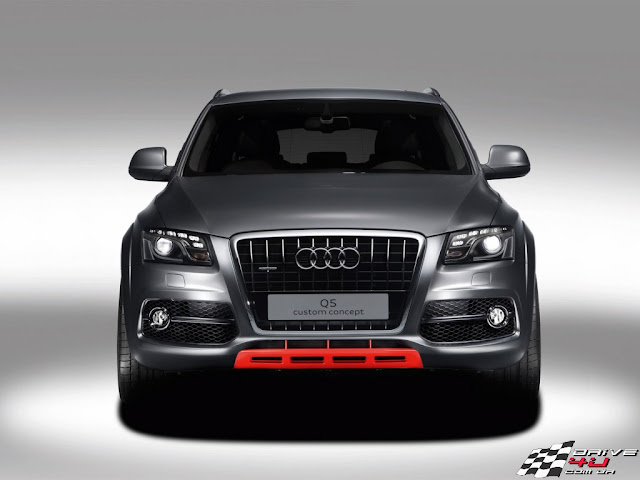 Front picture of sport Audi Q5