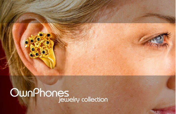 bộ sưu tập tai nghe trang sức, jewelry collection