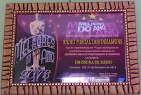 PRÊMIO MELHORES DO ANO 2013 – CATARINA - CEARÁ