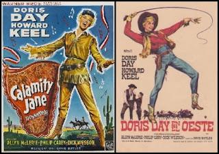 Doris Day en el oeste, poster, carátula, cartel, portada