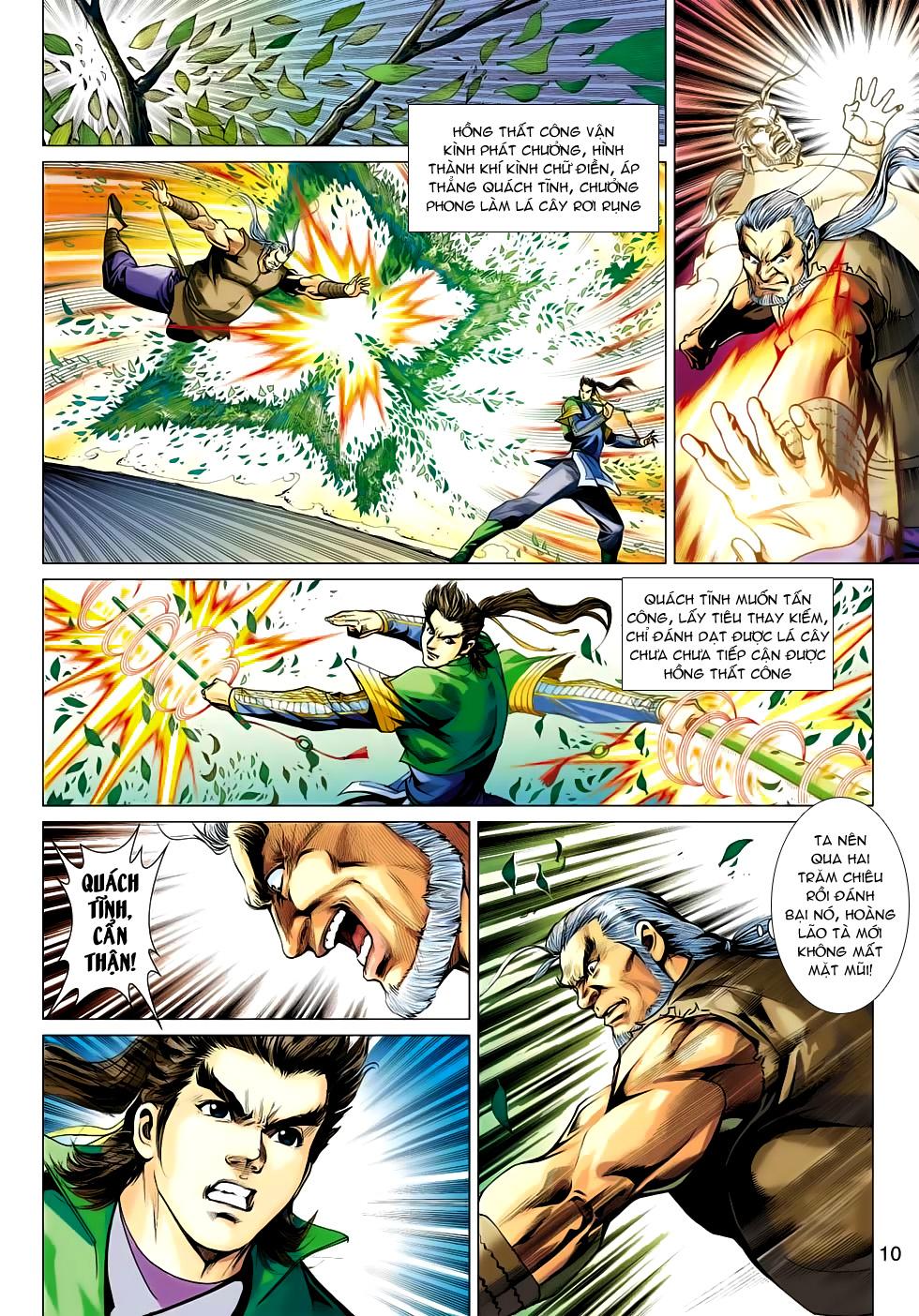 Xạ Điêu Anh Hùng Truyện chap 100 – End Trang 10 - Mangak.info