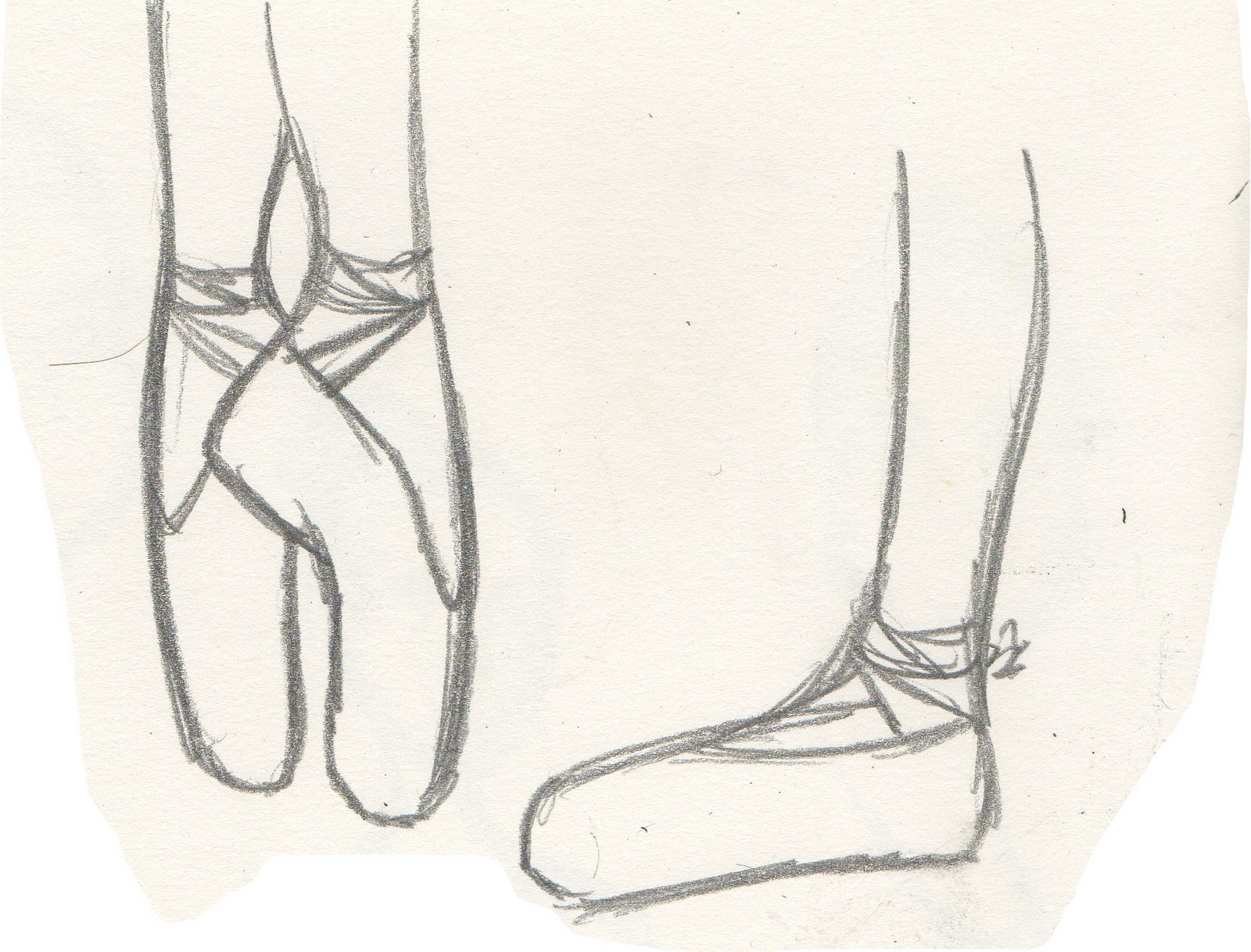 The gallery for --> Ballet Shoes Tumblr Drawing