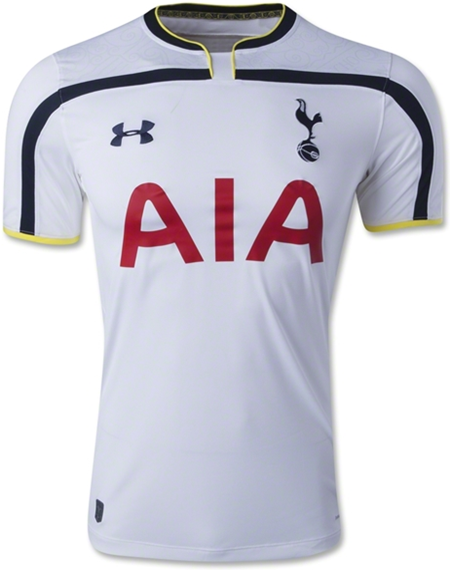 Tottenham Home Football Jersey 14-15