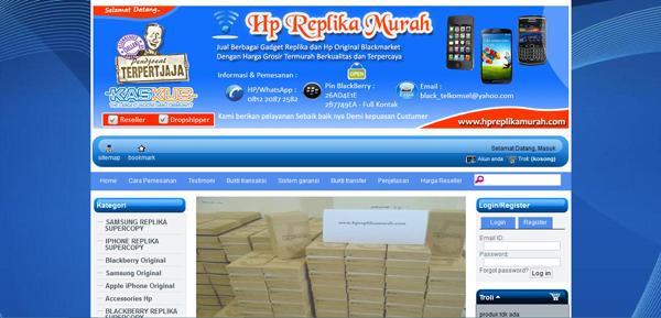 Hpreplikamurah.com Terlengkap Murah dan Terpercaya