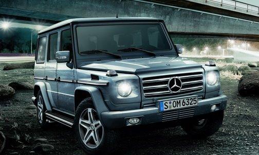 Sports car mercedes g class jeep for Mercedes benz truck g class