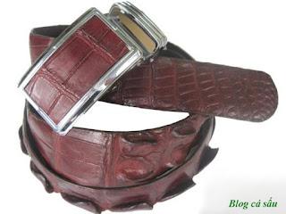 thắt lưng da cá sấu l40