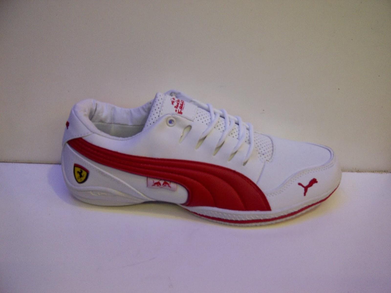 puma putih, sepatu puma, sepatu warna putih