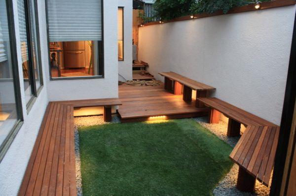 40 for Pisos para patios pequenos