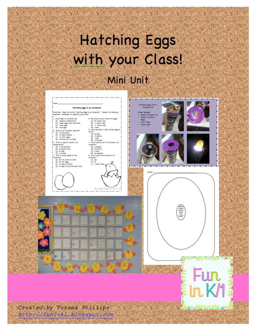 http://www.teacherspayteachers.com/Product/Hatching-Eggs-with-your-Class-Mini-Unit-230882
