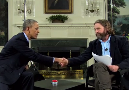 WATCH Between Two Ferns with Zach Galifianakis: President Barack Obama