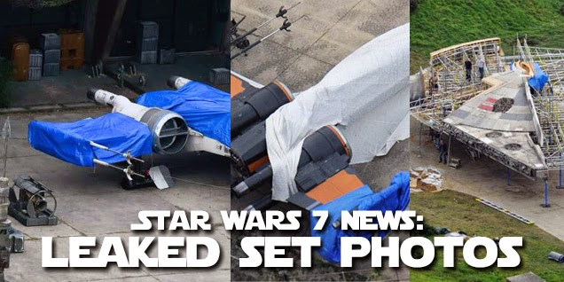 Star Wars 7 Set Leaked Photos