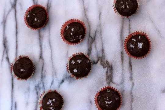 Me and My Pink Mixer: Mexican Chocolate Truffle Brownie Bites