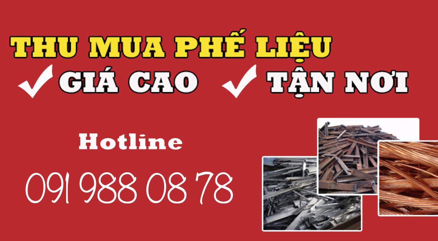 Thu Mua Phế Liệu Sắt Thép - 0919880878