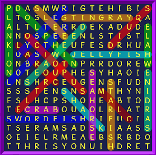 Binweevils Wordsearch Answers Sea Life