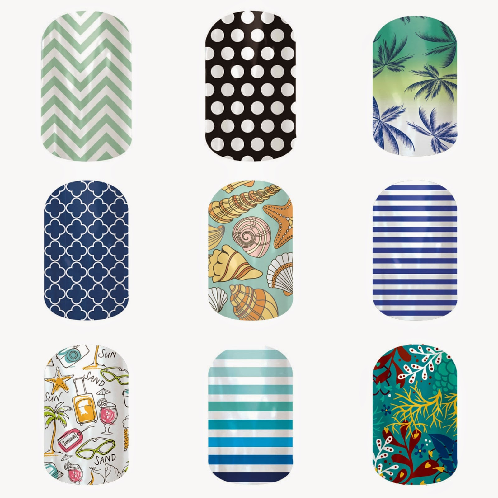 Nautical by Nature | Jamberry Nails