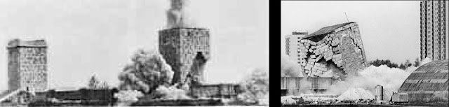 Blowing up Märzfeld towers