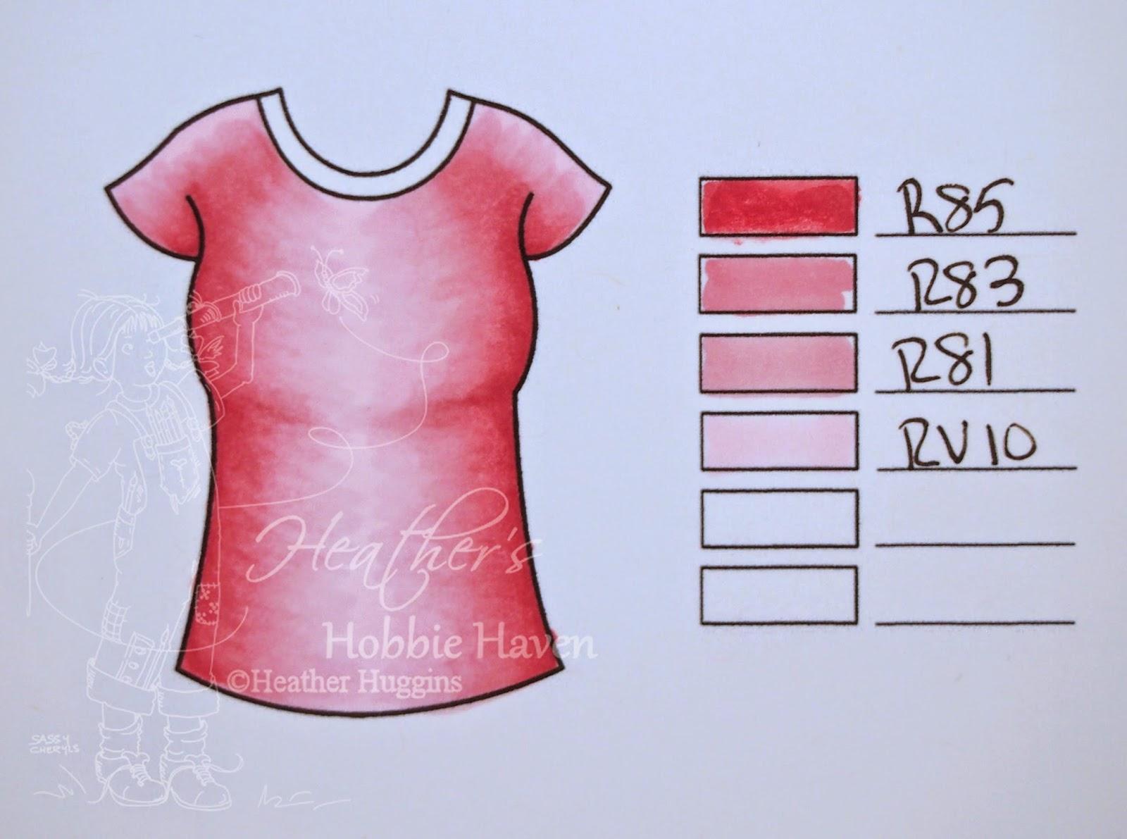 Heather's Hobbie Haven - Color Combo Wednesday