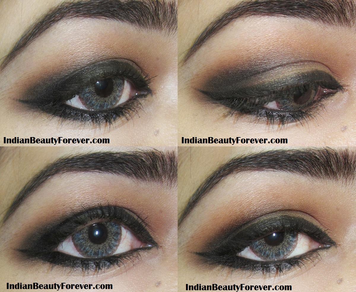 Soft smokey brown eyes with orangey red lips indian beauty forever soft smokey brown eyes with orangey red lips baditri Images