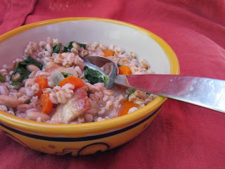 Farro and Bean Soup