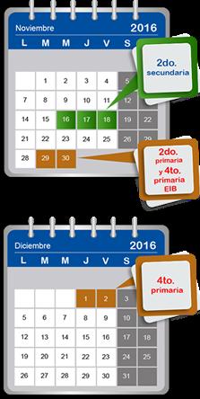 CRONOGRAMA ECE 2016