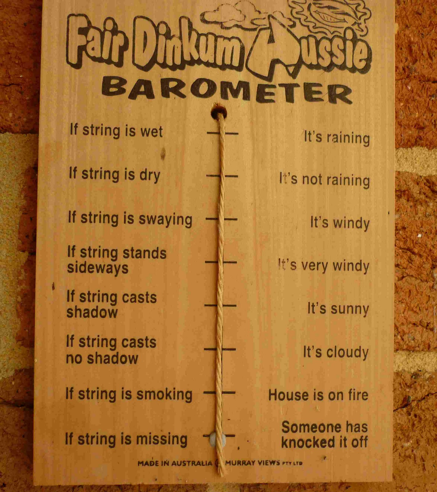 Our Weather Barometer