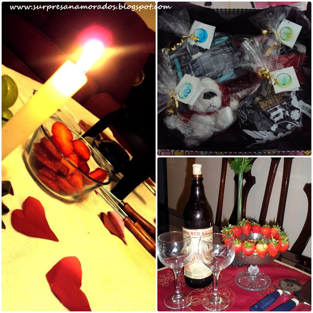jantar em casa para o namorado