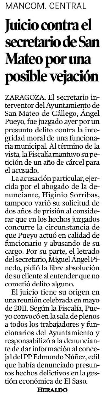 El blog de san mateo de g llego el secretario municipal - El tiempo en san mateo de gallego ...