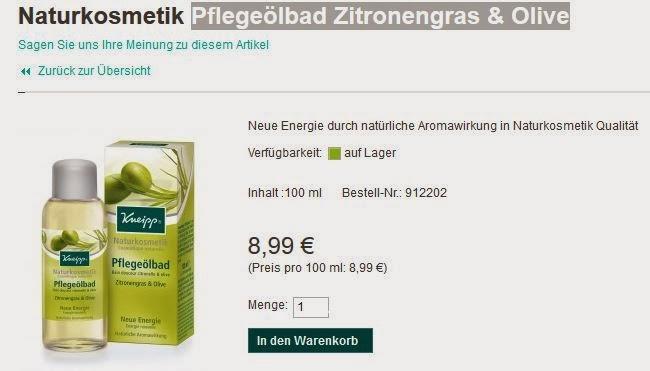 http://shop.kneipp.de/shop/naturkosmetik-pflegeoelbad-zitronengras-olive.html