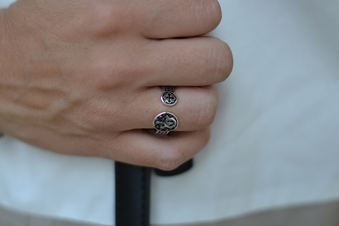 anello con preghiere